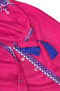 """Довга сукня-вишиванка """"Східна Казка"""" з льону"""