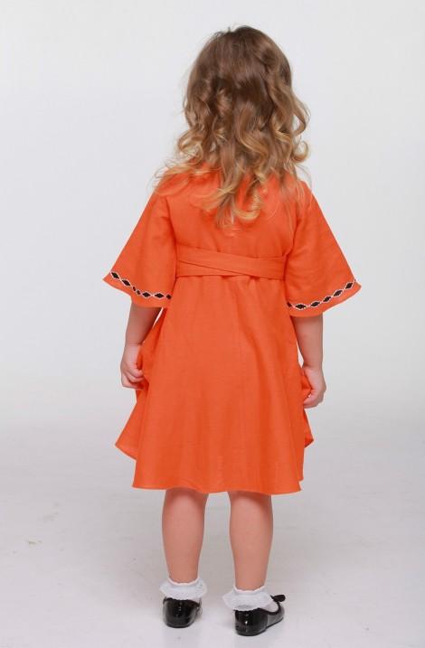Детская вышитая блуза и юбка