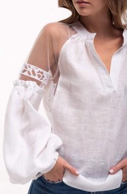 "Блуза ""Серпанок"" з 100% льону"