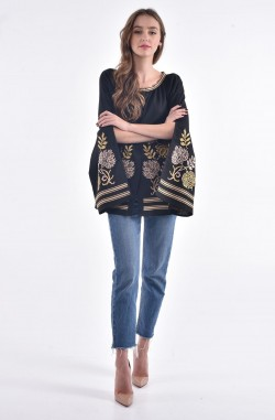 """Men's embroidered shirt and Blouse with embroidery """"Rhombuses"""