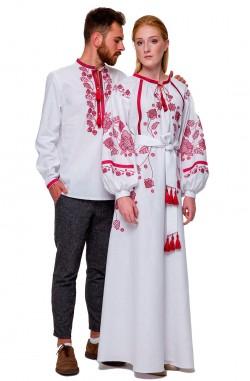 "Embroidered dress ""Vesnyanka"""