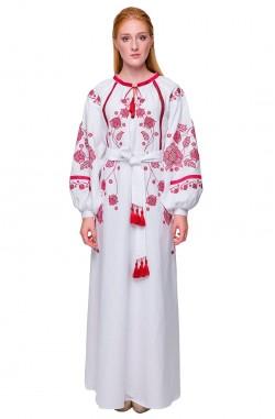 """Платье-вышиванка """"Первоцвет"""""""