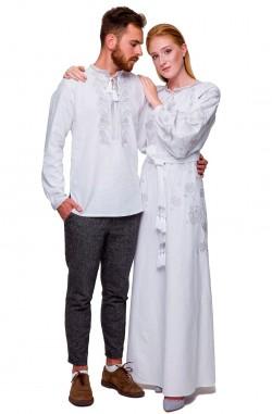 "Embroidered dress ""Syayvo"""