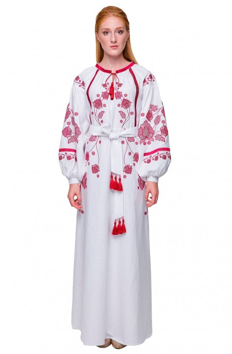 """Сукні-вишиванки для мами та доньки """"Громовиця"""""""