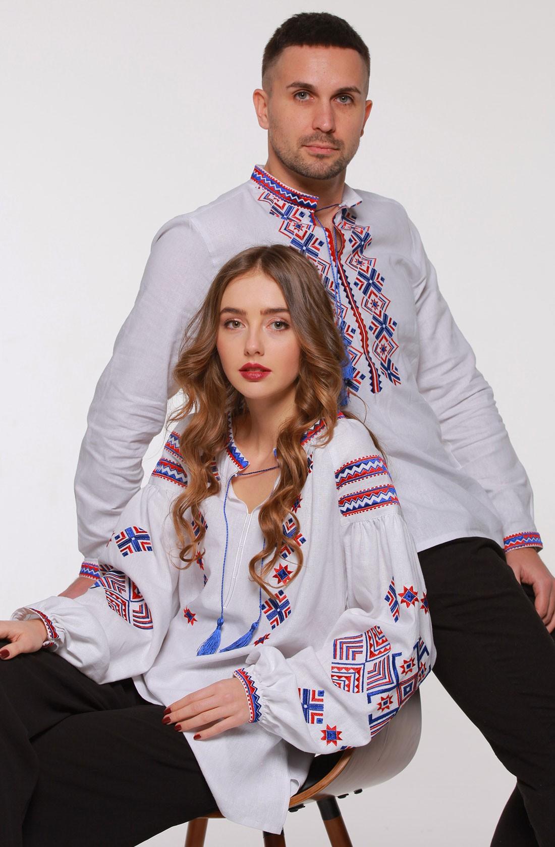 "Комплект вишиванок ""Ромби Косач"""