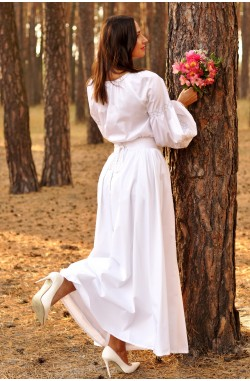 Сорочка та вечірня сукня з вишивкою
