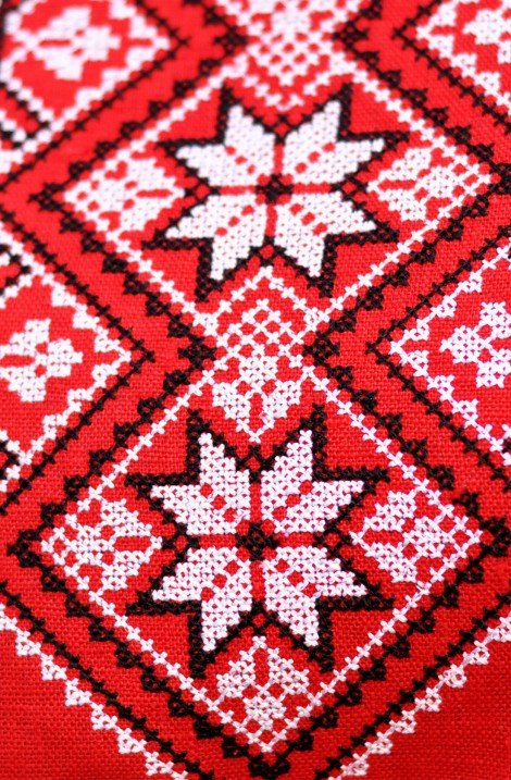 "Embroidery dress ""Gromovytsya"""