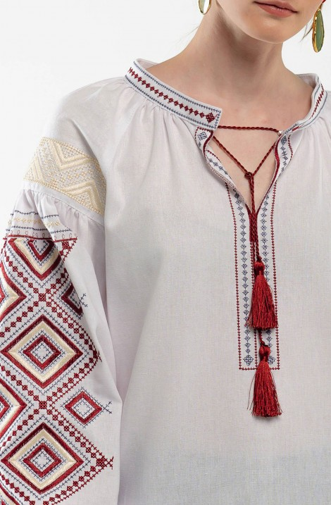 Men's embroidered shirt and Embroidered dress