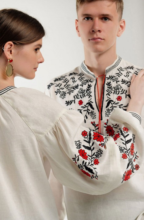 "Blouse with embroidery ""Oriental Fairy Tale"""