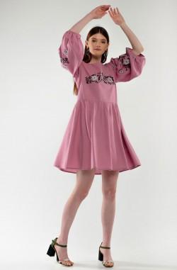 """Теплое платье-вышиванка """"Восточная Сказка"""""""
