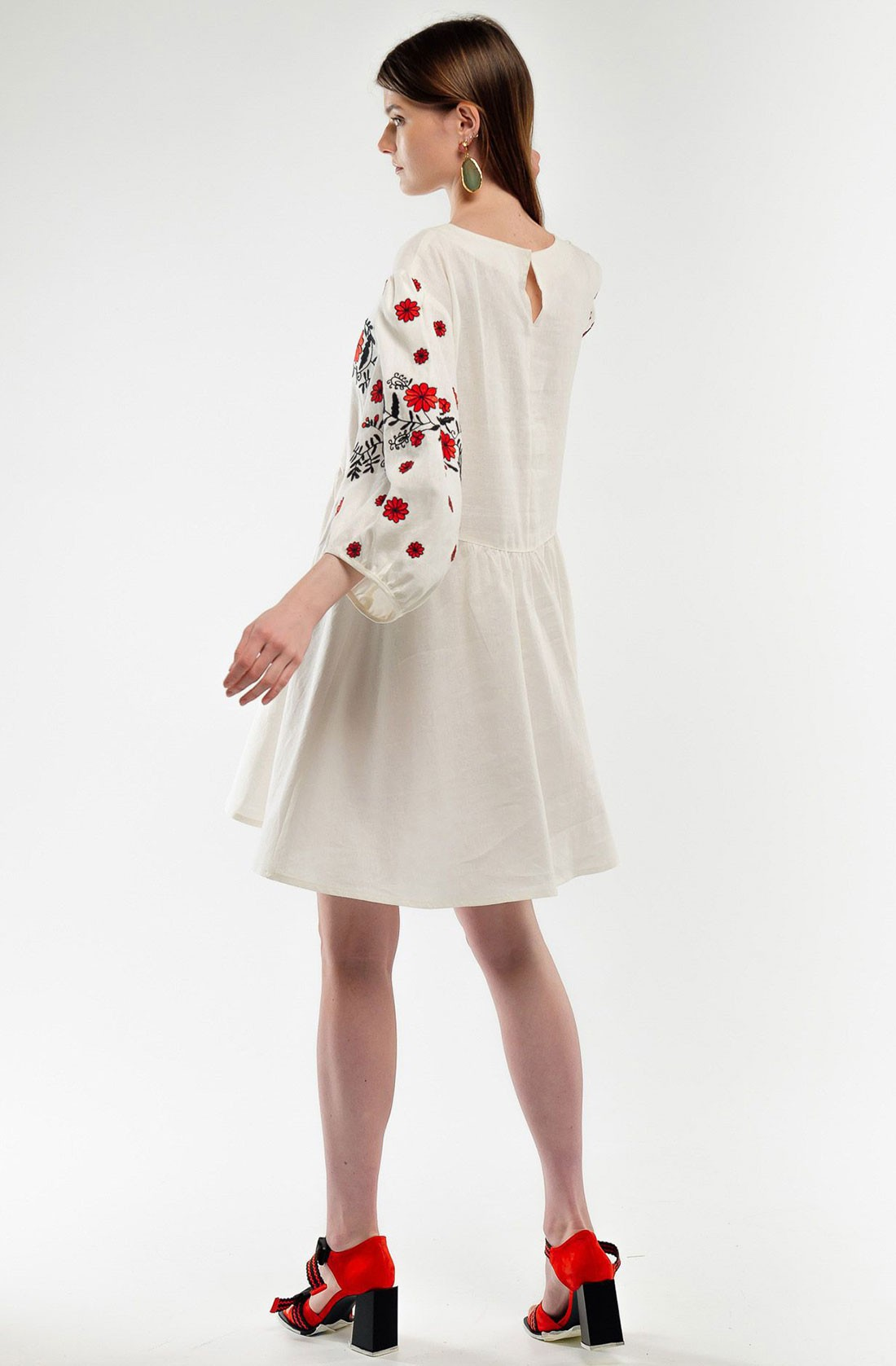 Жіноча сукня вишиванка бохо – купити в інтернет магазині e74c454c1cde4