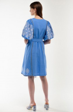 "Embroidered dress ""Oriental Fairy Tale"""