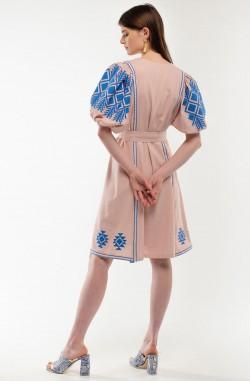 """Платье-вышиванка """"Огненный Танец"""""""