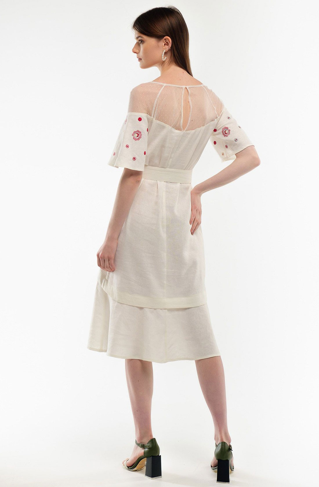 "Dress with embroidery ""Maiden Seduction"""