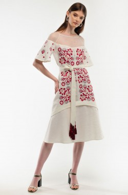 """Dress with embroidery """"Maiden Seduction"""""""