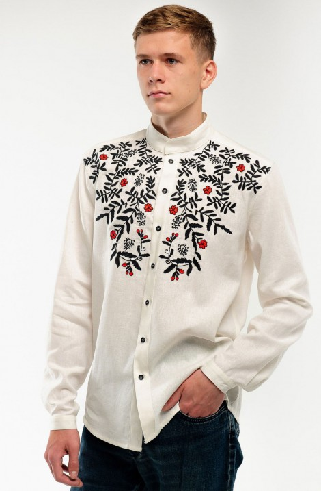 """Embroidered dress """"Fire Dance"""""""