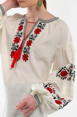 """Платье-вышиванка """"Цветочная Нимфа"""""""