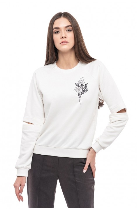 """Blouse with embroidery """"Airy Fantasy"""""""